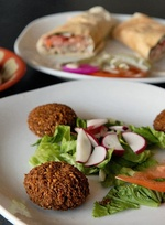 Feasting on Falafel: The Middle East's famous fried patties can be addictive