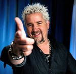 "The next two Syracuse-based segments of celebrity chef Guy Fieri's ""Diners, Drive-ins and Dives"" show will make their Food Network debut this month"